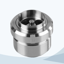 stainless steel hygienic middle - clamp union type NRV check valve