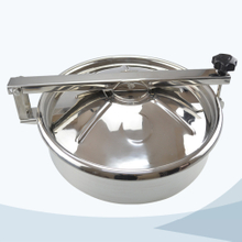 stainless steel food grade round non pressure manhole cover with Bulge
