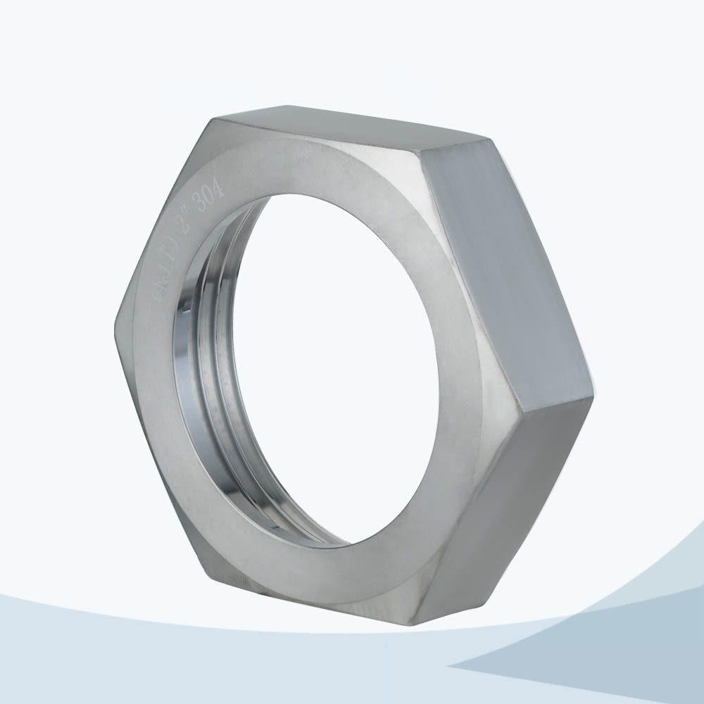stainless steel food processing RJT hex union nut