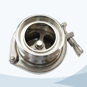 stainless steel food grade middle-clamp union type check valve