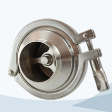 stainless steel food grade clamp-type welded NRV check valve