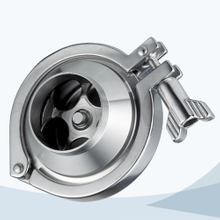 stainless steel food equipment welded middle-clamp NRV check valve