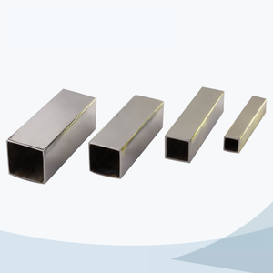 stainless steel food grade square tubes